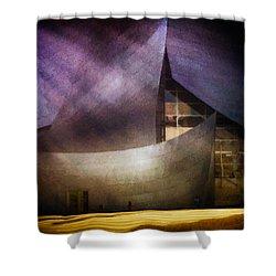 Walt Disney Concert Hall Shower Curtain