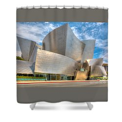 Walt Disney Concert Hall - Los Angeles Shower Curtain