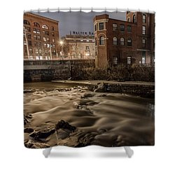 Walter Baker Chocolate Factory Shower Curtain