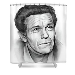 Walter Burke Shower Curtain