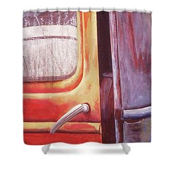 Walter Shower Curtain by Laurie Stewart