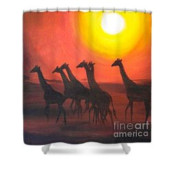 Walters Africa Shower Curtain