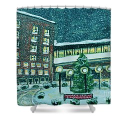 Waltham Hospital On Hope Ave Shower Curtain
