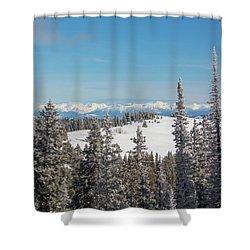 Walton Peak  Shower Curtain