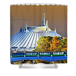 Walts Modern Vision Shower Curtain by David Lee Thompson