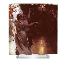 Waltz Shower Curtain by Anders Zorn