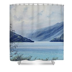Wanaka Lake Shower Curtain