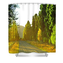 Wanaka Morning Light Shower Curtain by Kevin Smith