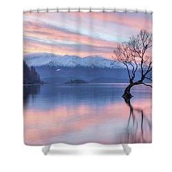 Wanaka Sunset Shower Curtain
