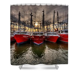 Wanchese Fish Company Shower Curtain