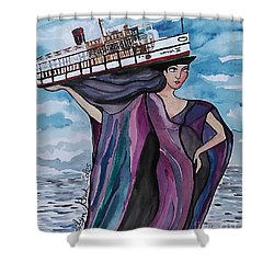 Wanda IIi Shower Curtain