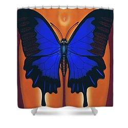 Wandering Dream 2 Shower Curtain