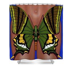 Wandering Dream 3 Shower Curtain
