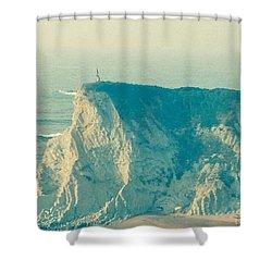 Wandering On The Cliffs Around Sopelano Shower Curtain