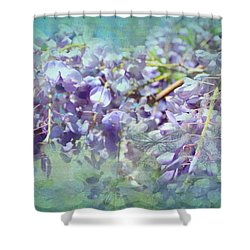 Shower Curtain featuring the photograph Wanderlust by Wallaroo Images