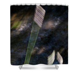 Wands Over Water Shower Curtain