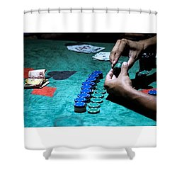 Wanna Buy In?? Show Me The Money!! Shower Curtain