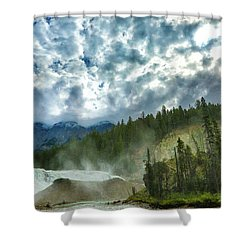 Wapta Falls 1 Shower Curtain