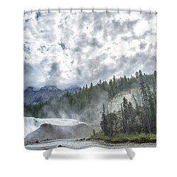 Wapta Falls 2 Shower Curtain