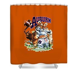 War Eagle  Shower Curtain