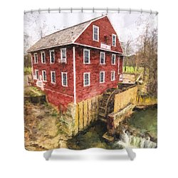 War Eagle Mill Shower Curtain