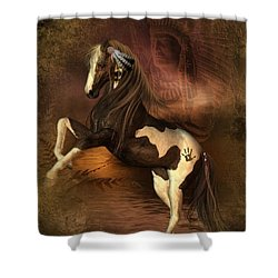War Horse 2 Shower Curtain