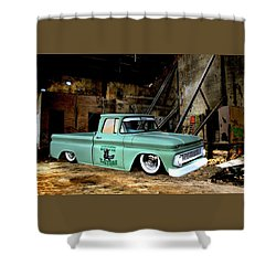 Warehouse Pickup Shower Curtain