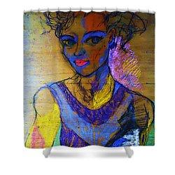 Warhol Simone Shower Curtain