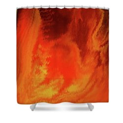 Warm  Shower Curtain