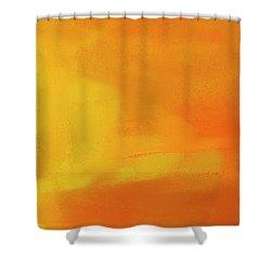 Shower Curtain featuring the digital art Warm Moment by John Hansen
