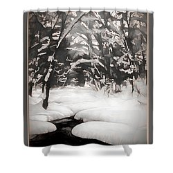 Warmth Of A Winter Day Shower Curtain