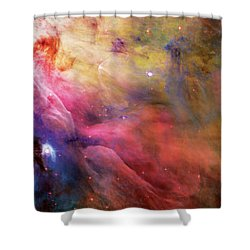 Warmth - Orion Nebula Shower Curtain