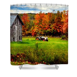 Warner Farm Shower Curtain