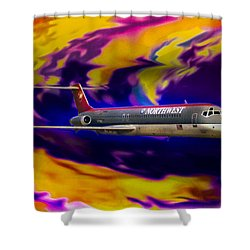 Warp 7 Shower Curtain