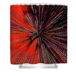 Shower Curtain featuring the photograph Warp Drive Mr Scott by Tony Beck