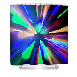 Warp Factor 1 Shower Curtain