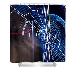 Warp Shower Curtain