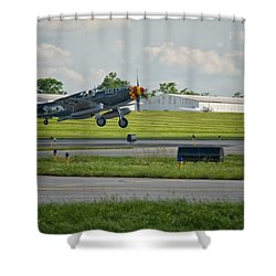 Warplane Shower Curtain
