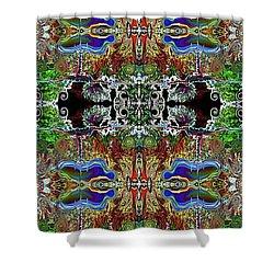 Warrior 3 Shower Curtain