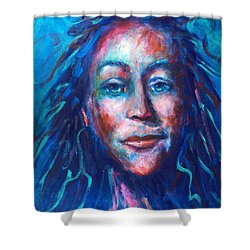 Warrior Goddess Shower Curtain