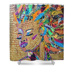 Warrior Woman Shower Curtain