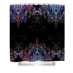 Warships Shower Curtain