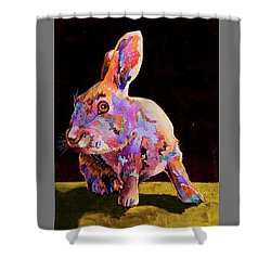 Wary Shower Curtain by Bob Coonts