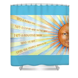 Was A Sunny Day Shower Curtain