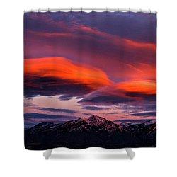Wasatch Sunrise II Shower Curtain