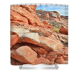 Wash 5 In Valley Of Fire Shower Curtain
