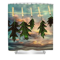 Wash Day Shower Curtain by Bob Orsillo