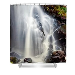 Wash Over Me Shower Curtain by Rick Furmanek