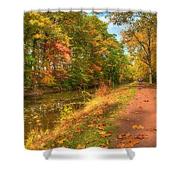 Washington Crossing Park Shower Curtain