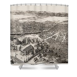 Washington, D.c., 1861 Shower Curtain by Granger